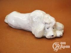 "Скульптура ""Грустный пес"""